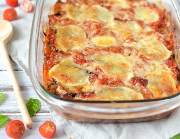 Aubergine Lasagne Recept – Parmigiana di Melanzane