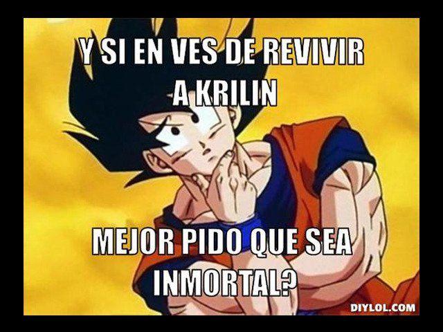 Memes de Dragon Ball Z que te harán reír si eres fan - Taringa!