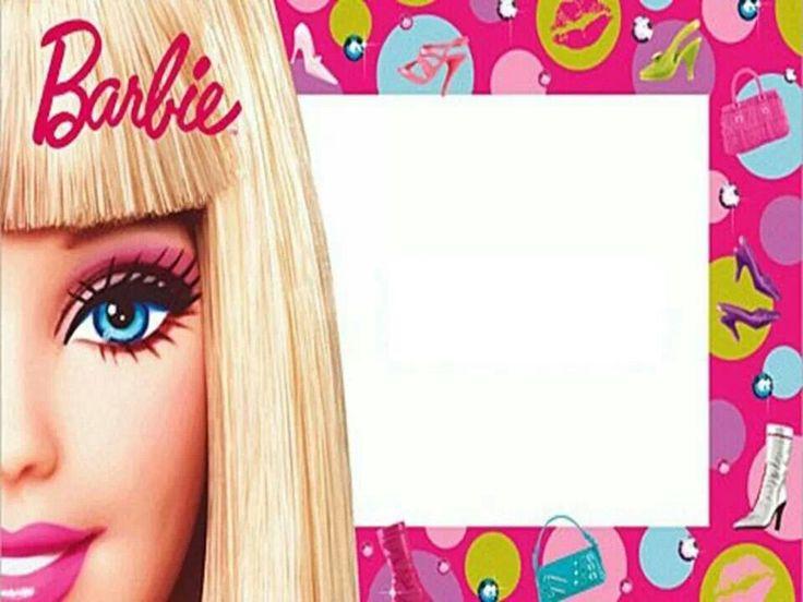 Invitaciones Barbie