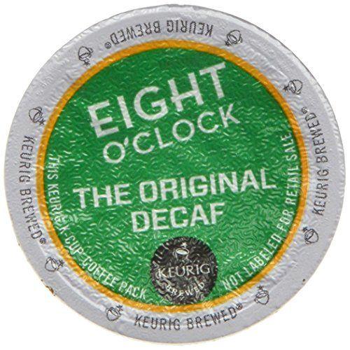 Keurig, Eight O'Clock Coffee, The Original Decaf, K-Cup packs, 72 Count - http://hotcoffeepods.com/keurig-eight-oclock-coffee-the-original-decaf-k-cup-packs-72-count/