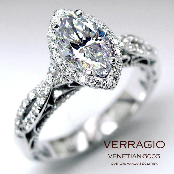 Using my moms marquise cut diamond & LOVE this setting!