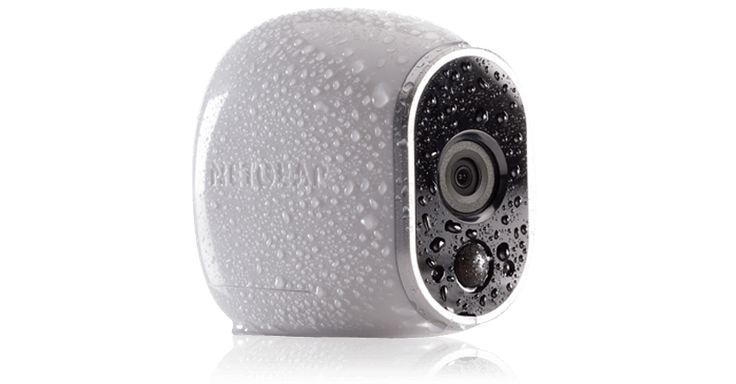 Arlo Home Security System, wireless, battery-powered, water-and weatherproof high definition cameras with no monthly costs