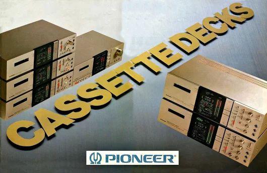 PIONEER Cassette Decks