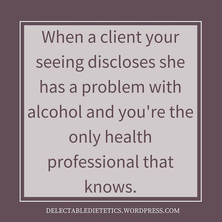 When a client your seeing discloses she has a problem with alcohol and you're the only health professional that knows.  This is a typical type of situation I encounter.   Providing weight-inclusive care in my work has allowed clients to feel comfortable enough to have the hard conversations which are often a big part of why they are seeking assistance.   Weight shaming shuts people down and leads to them avoiding appropriate health care.  Read the post here at http://ift.tt/2w4GJp0