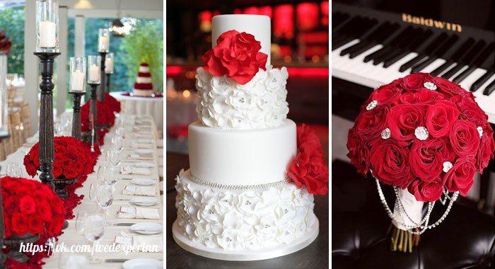 [#цвет_свадьбы@wedexpertnn | Красный ]  Красный как никакой другой уместен для современной свадьбы, ведь он символизирует собой страстность, романтичность и любовь в целом. Прошли те времена, когда к такому мероприятию желательно было готовить наряды и зал исключительно пастельных тонов, поэтому смело украшайте зал красивыми красными элементами декора. Учтите, что красные предметы отлично сочетаются с черным, но его должно быть немного, иначе мероприятие будет выглядеть траурно.  Что…