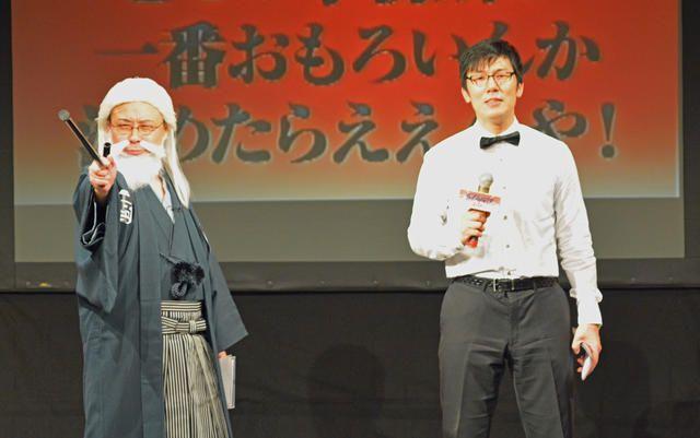 昨日4月11日、東京・ルミネtheよしもとにてバッファロー吾郎主催の大喜利ライブ「ダイナマイト関西2015…