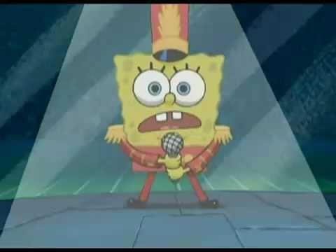 spongebob sings boom boom pow - so funny for the kids!