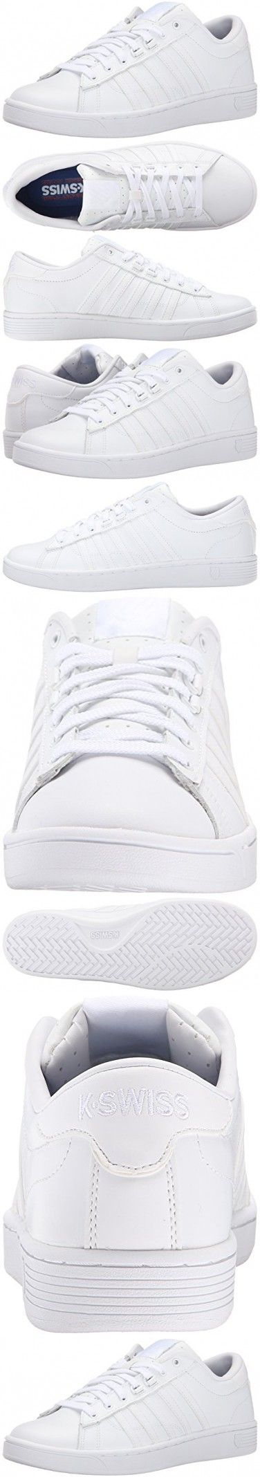 K-Swiss Women's Hoke CMF Casual Shoe, White/White, 7 M US