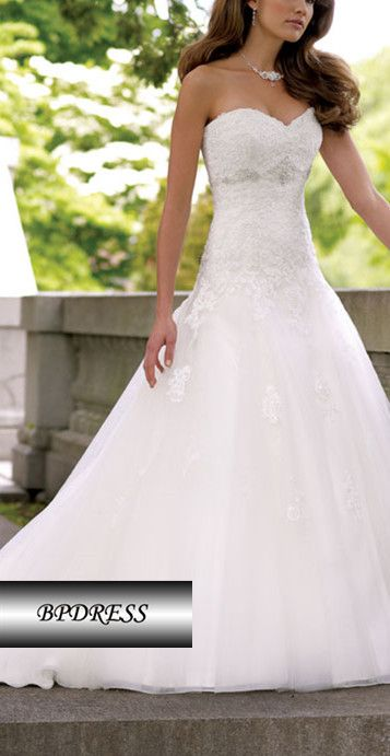 wedding dress wedding dresses, love this,she's like a queen