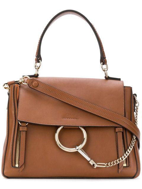 0f311dc30fdf2 Chloé Medium Faye Day Bag   Bolsas   Bags, Leather shoulder bag e Chloe