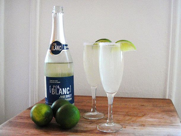 Champagne + margarita. Two of my favorite bad ideas.