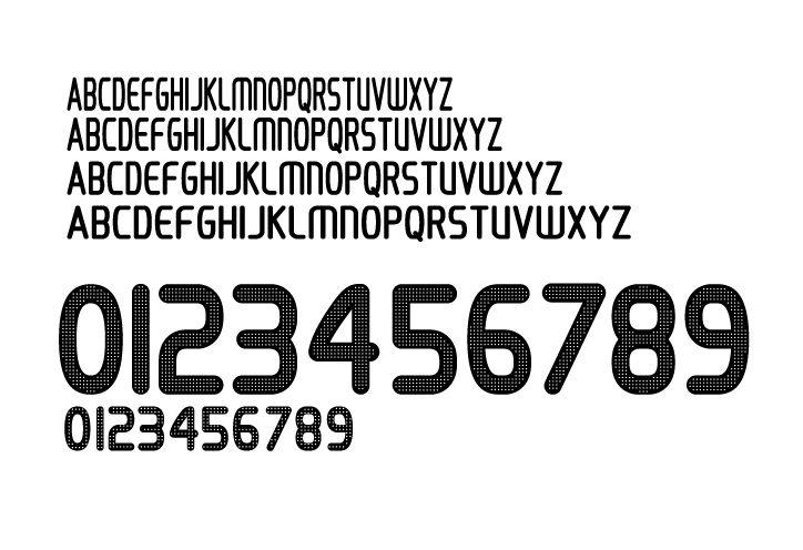 Adidas Font Style 2008