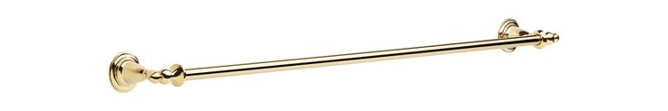 "Delta 75030 Victorian 30"" Wall Mounted Towel Bar Brilliance Polished Brass Accessory Towel Bar 30 Inch"