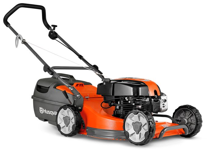 """A commercial quality lawn mower with a large 48cm (19"""") alloy cutting deck plus a powerful DOV IC series four stroke engine and four cutting blades to give a superior cut and finish to your lawn. Features include dual ball bearing wheels, comfort grip folding handles with quick action cam locks, safety zone starting, large plastic catcher and eight cutting heights. Comes complete with mulch insert."""