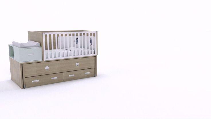 Mejores 16 imágenes de Habitaciones Infantiles en Pinterest ...