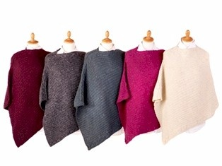 #Houseofireland Aran Knit #poncho