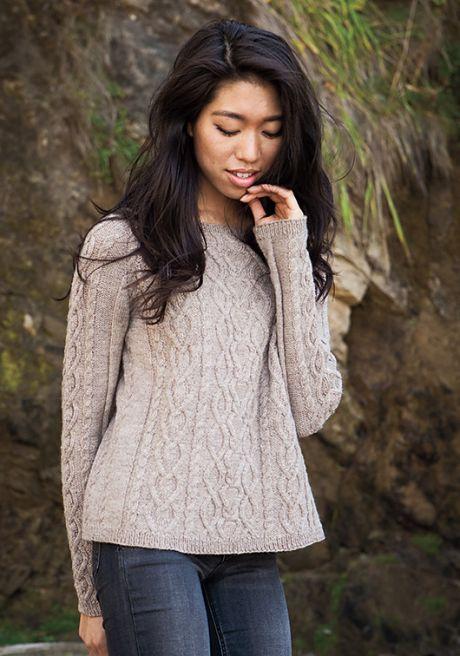 Вязаный пуловер Sestina | ДОМОСЕДКА