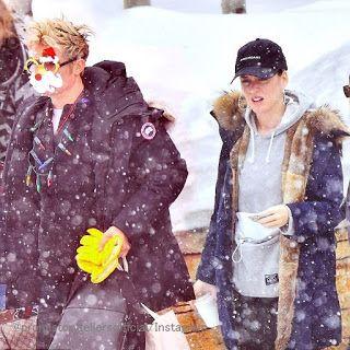 Celebrity Style | 海外セレブ最新ファッション情報 : 【ケイティ・ペリー】パーカー×モッズコートのカジュアルスタイル!恋人オーランドと雪の中をお出かけ!