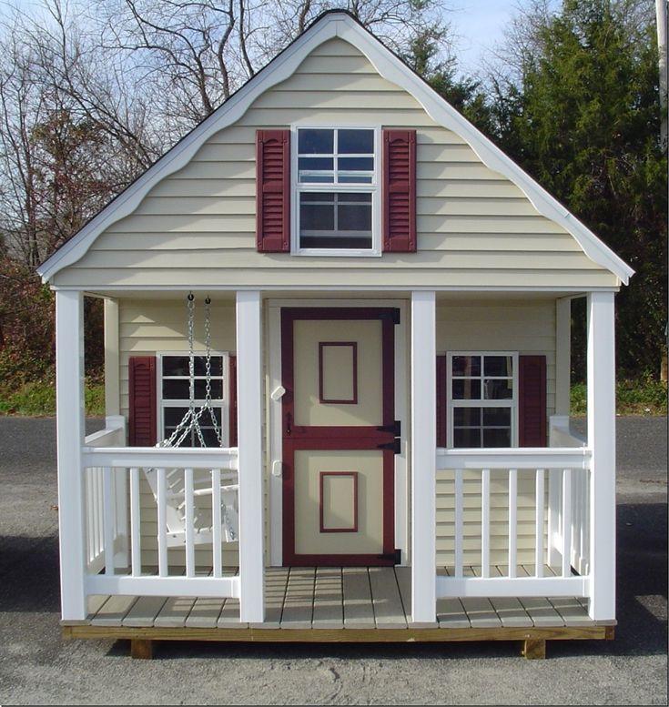 Building a Crooked Playhouse | child playhouse 2 567x600 child playhouse 2.jpg