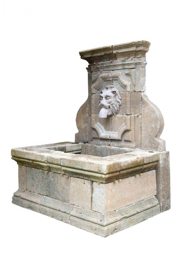 17 meilleures id es propos de fontaine en pierre sur pinterest fontaines de jardin - Bassin ancien de jardin orleans ...