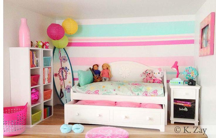 Dollhouse Room 2 Tropical Bedroom American Girl