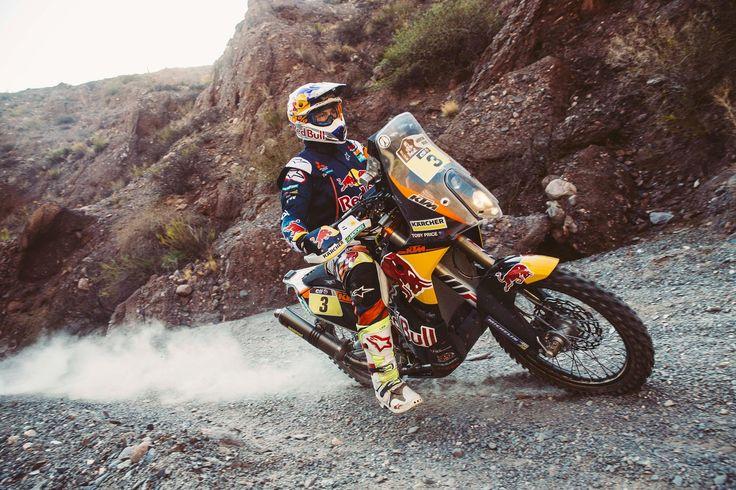Victoire de Toby Price au rallye-raid Dakar 2016