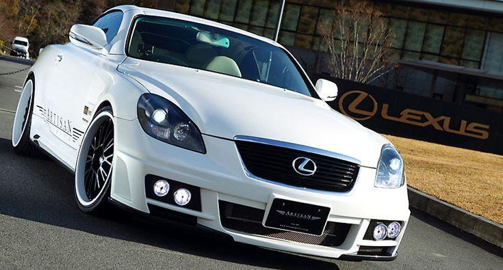 Аэродинамический обвес Artisan Spirits Sports-spec Line для LexusSC430 (2005 - 2011)