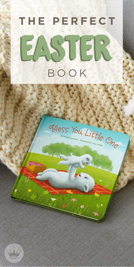 298 best easter images on pinterest easter baskets stuffed bless you little lamb board book easter gifthoppy negle Images