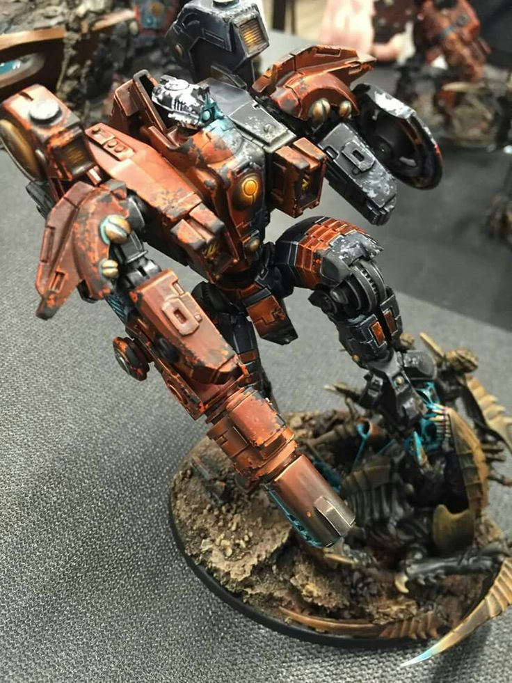 40k Tau and Nids Riptide Battlesuit