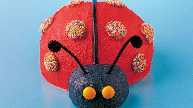 Lady bug cake from the Australian Women's Weekly www.aww.com.au