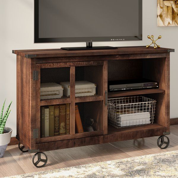 how to make a tv stand from wood