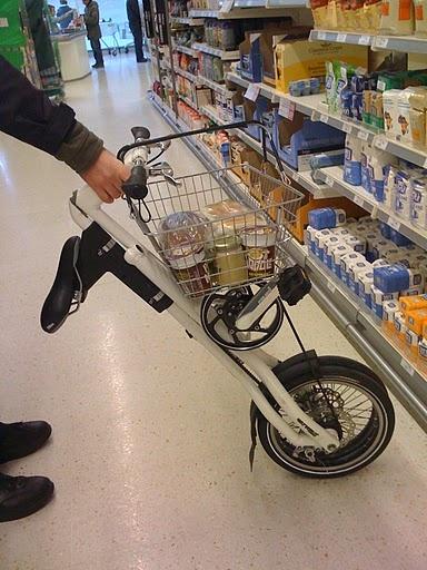 my strida shopping cart 주말 마트 갈 때 이렇게 사용해볼까~:)