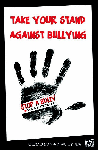 Bullying Poster (pinned by a pinner )