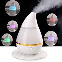 Wish | Practical Mini  Car USB Ultrasonic Air Humidifier Steam LED Aroma Vaporiser Diffuser Purifier