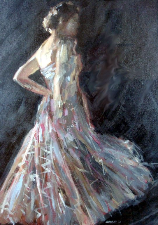 Saatchi Online Artist: William Oxer; Acrylic, Painting The Muse #art