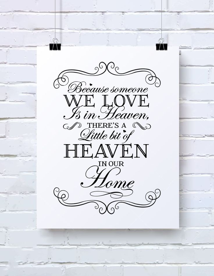 Download Because Someone We Love is in Heaven svg Someone We Love ...