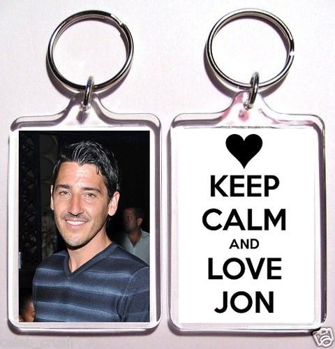 Jonathan Knight High Quality Acrylic Keychain On Ebay... $7.99 FREE SHIPPING