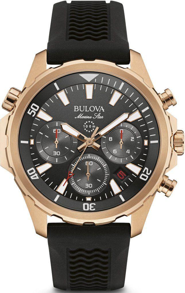 Bulova Watch Marine Star #add-content #bezel-fixed #bracelet-strap-rubber…