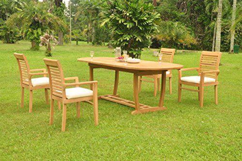 Wholesaleteakfurniture Grade A Teak Wood 4 Seater 5 Pc Dining Set 94 With Images Outdoor Furniture Sets