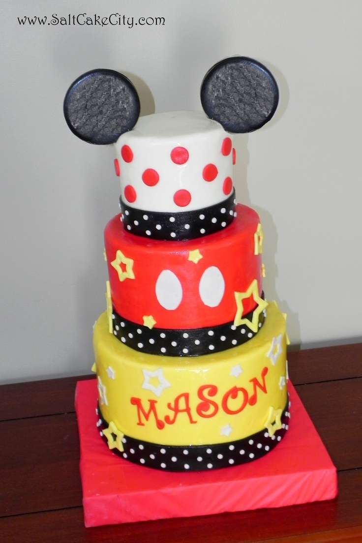 1000 Images About Birthday Cakes On Pinterest Mickey Mouse Cake