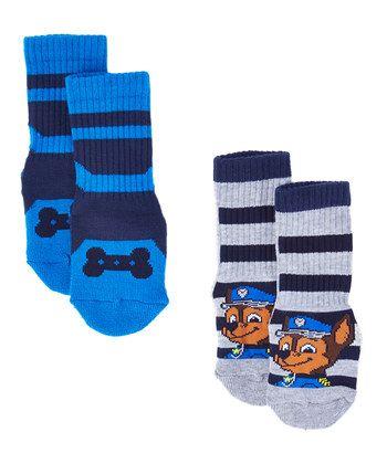 PAW Patrol Two-Pair Sports Crew Socks Set