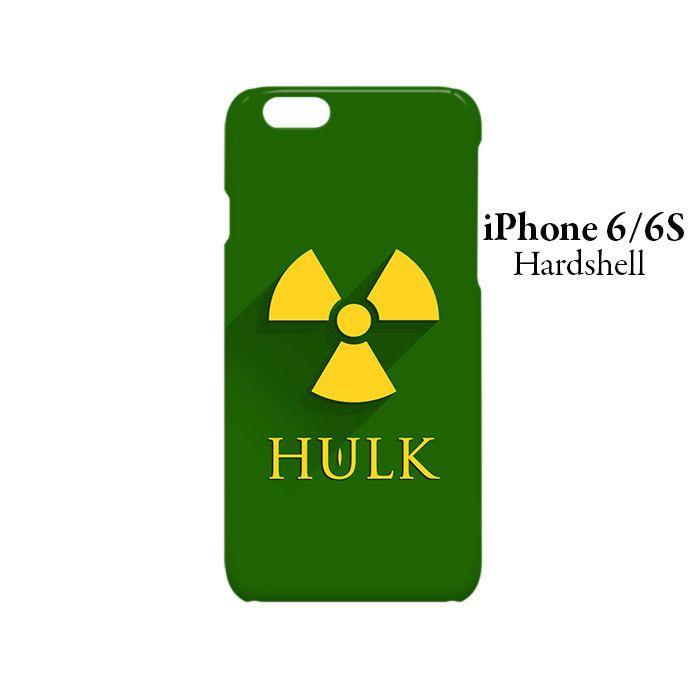 Hulk Superhero iPhone 6/6s Hardshell Case