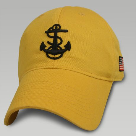Legacy Navy Anchor/Usa Flag Hat | ArmedForcesGear.com #navygifts