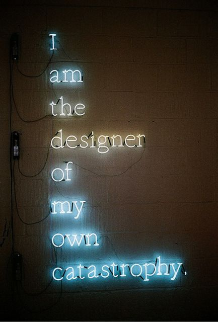 Neon lights always tell the truth