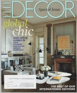 140 best ELLE DECOR COVERS images on Pinterest Elle dcor