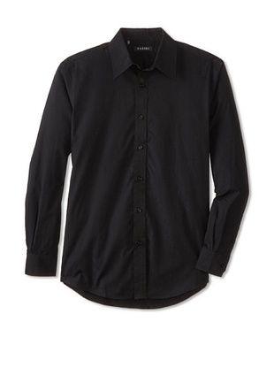 70% OFF Zagiri Men's Running To Paradise Jacquard Shirt (Black)