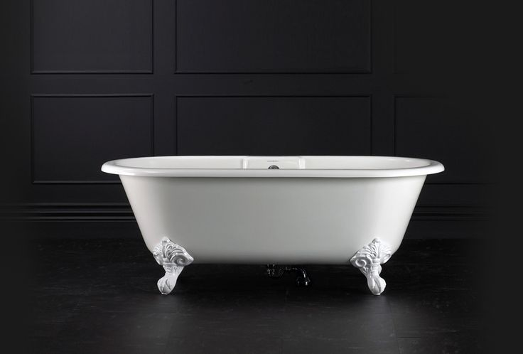 "Victoria & Albert Modern Double Ended Tub (69""L x 31 1/2""W) Victoria & Albert bathtubs are made from ENGLISHCAST, a technology where a mineral crys"