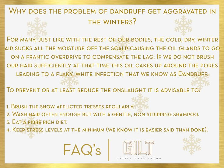 #GILT #Salon questions - why does the problem of dandruff get aggravated in winter? Dandruff problems with solution and easy treatment.#FAQ  #Winter #hair #care