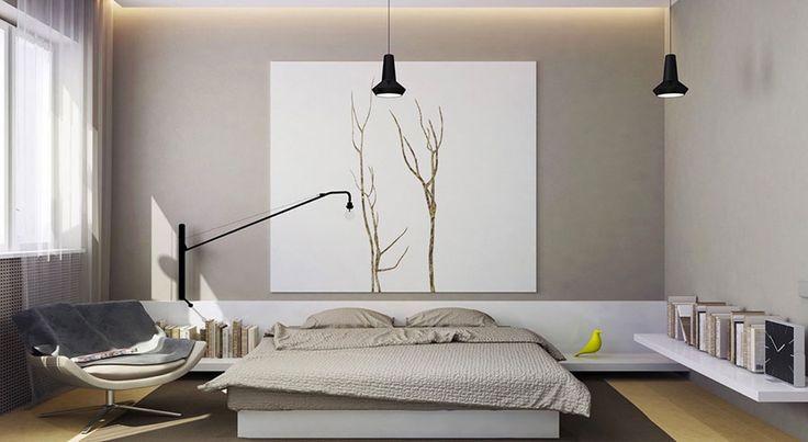 Camera da letto minimal 07