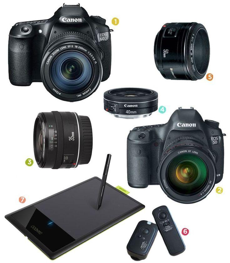 A Beautiful Mess' Camera Gear List